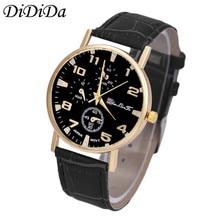 1PCS Men's Watch Watches Quartz Wristwatches Analog Business Wrist Watch Fashion Free Shipping wholesale relogio masculino J9