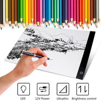 A3 LED Drawing Board LED Graphic Tablet Writing Painting Light Box Tracing Board Digital Drawing Tablet Copy Table LED Board Pad