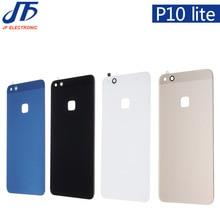 P10lite חזרה סוללה זכוכית כיסוי עבור Huawei P10 לייט/עבור נובה לייט Replcement אחורי דיור מארז דלת מקרה 10 יח\חבילה