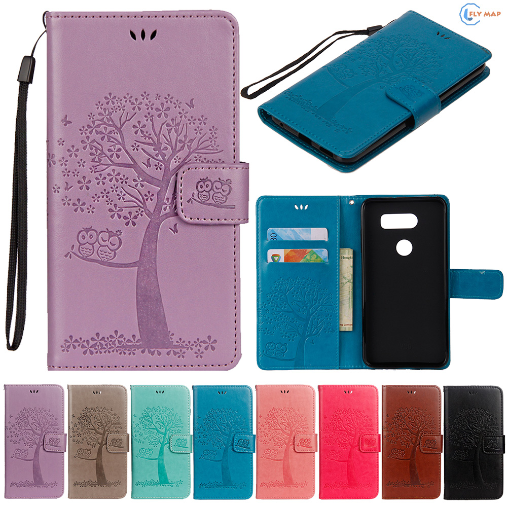 Flip Coque For LG Q8 TPU Wallet Case Mobile Phone Leather Co