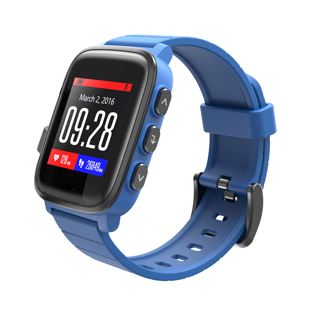 SMAWATCH SMA Q2 Bluetooth 4.0 Heart Rate Monitor Smart Watch for Android iOS sma r dual bluetooth smart watch