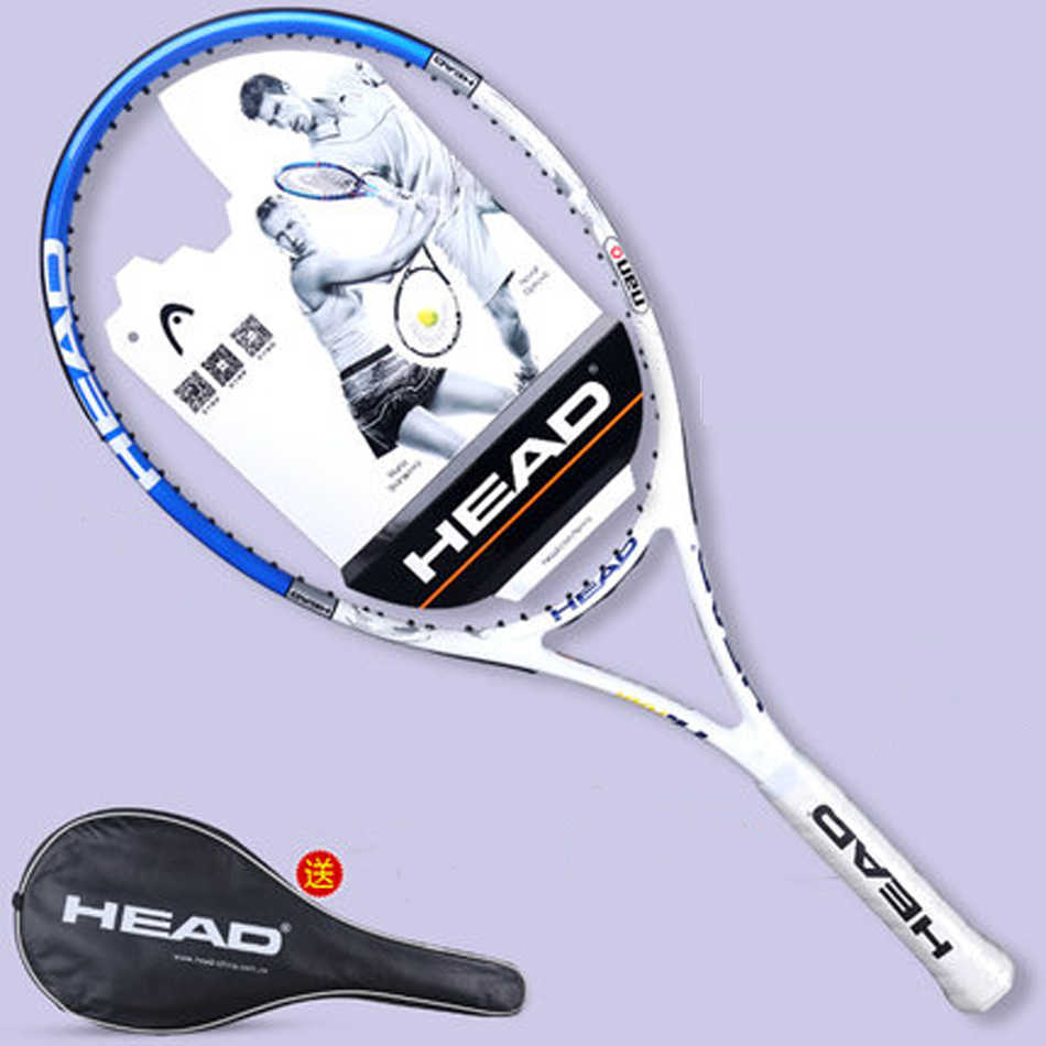 Original Head L4 Tennis Racket Carbon Fiber Tennis Racket Racquet With Bag Grip Tape Tennis Racquet Men L4 Tenis Padel HEAD