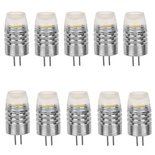 HRSOD 10pcs G4 2W 180LM 3000K/6000K Warm White/Cool White Light Lamp Bulb(DC12V)