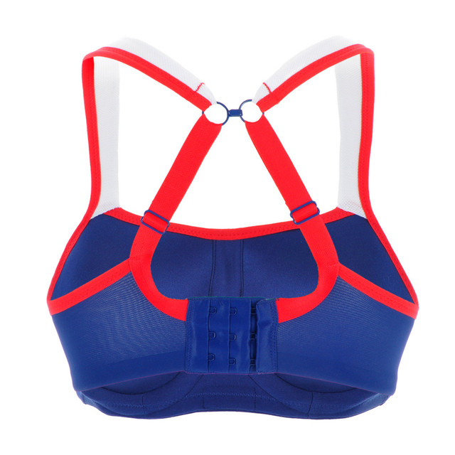 Maximum Support Molded Cups Active Bra Plus Size