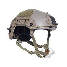Fma tactical capacete abs de aramida marinha escalada capa protetora para paintball wargame airsoft militar capa
