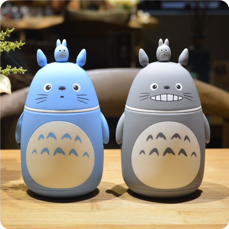 Totoro 3D Anime Thermos Bottle