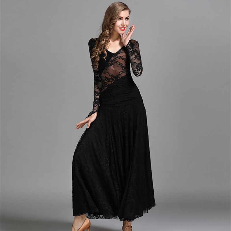 Vestido de vals rumba smooth vestidos de salón vestido social estándar vestidos de baile de salón en venta traje español flamongo lace