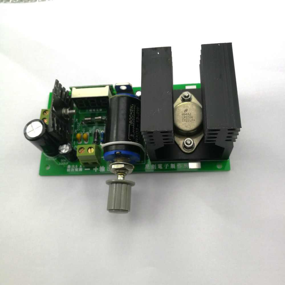 32 V 5a Power Supply With Short Circuit Protection With Lm338 Images