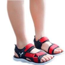 Kids Boys Sandals 2019 Summer Beach Boy Leather Shoes Fashion Sport Sandal Children For Casual