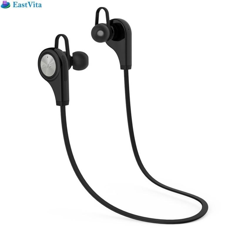 EastVita hot sale Exquisite Q9 Sports Stereophonic Bluetooth Headset Earbuds Headphone with Neck Halter for Mobile Phone CSR8635