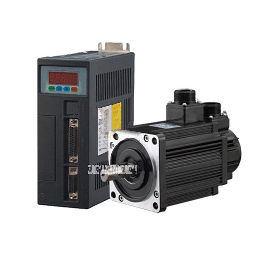 все цены на NEW Arrival 4N.M 1.2KW 3000RPM 110mm 110ST AC Servo Motor 110ST-M04030 + AC220V Servo Driver + 3meter Cable Complete Motor Kit онлайн