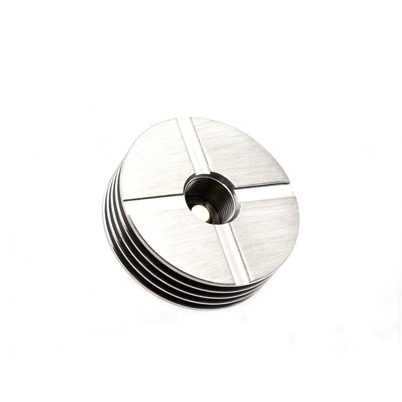510 Heat Sink Metal Heat Dissipation Drip Tip 24mm 510 Tread Adaptor For RDA RDTA Atomizer Electronic Cigarette Vape Box Mod