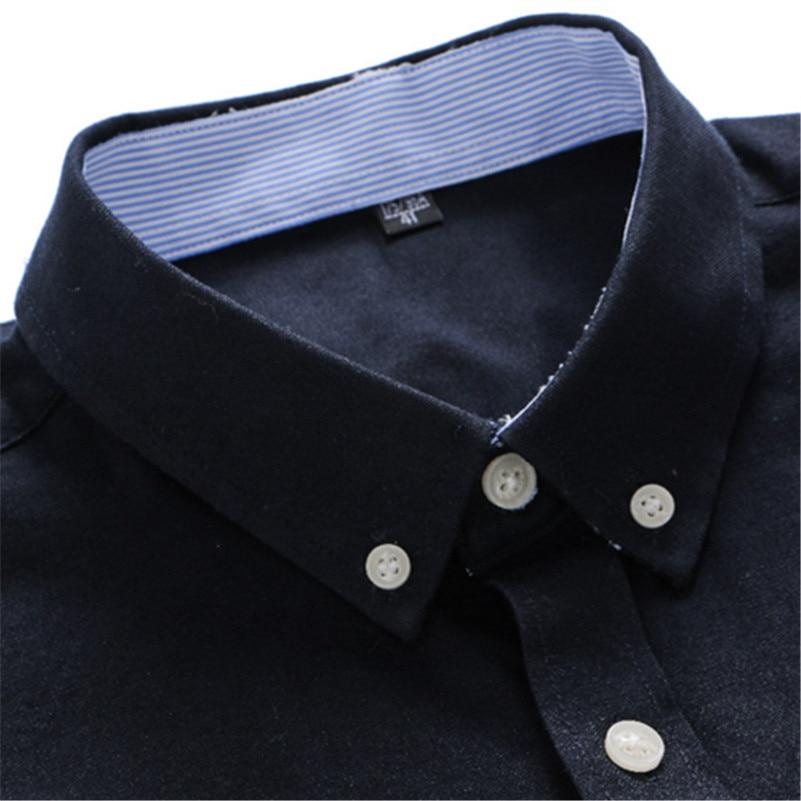 VISADA JAUNA Camisa de negocios de los hombres 2017 camisas de los - Ropa de hombre - foto 4
