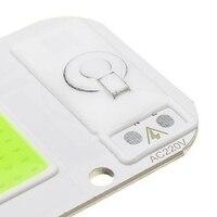 LUSTREON 20 Вт/Вт 30 Вт/50 Вт Warmwhite/белый/синий/светодио дный красный/зеленый COB светодиодный чип прожектор AC220-240V