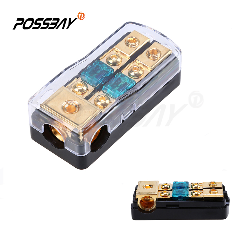 30a  60a  80a  100a  150a Car Audio Power Block Fuse Holder