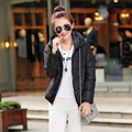 2016 new Korean Slim casual hooded down padded cotton jacket short paragraph free shipping