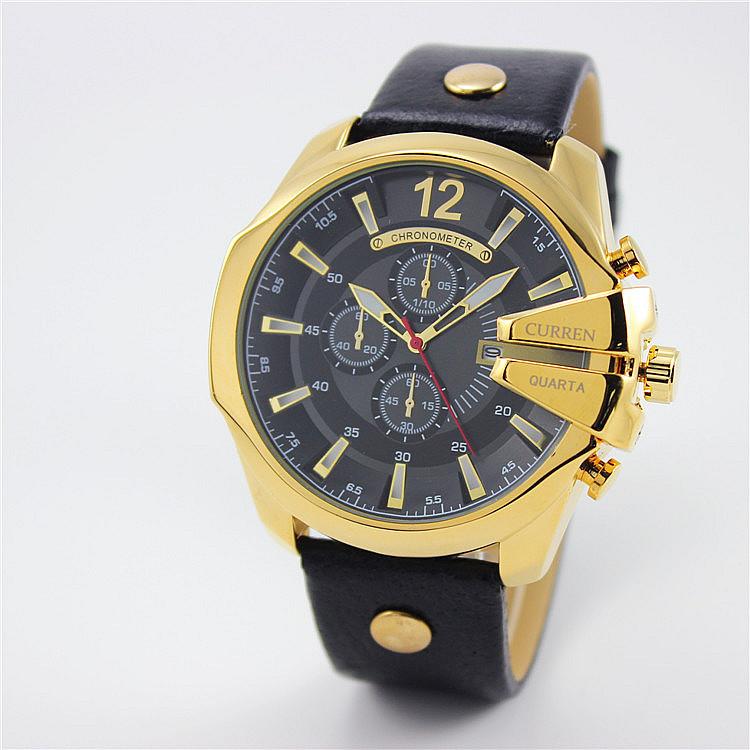 Prix pour Hot vente mode CURREN montres hommes marque de luxe analogique montre de sport Top qualité quartz militaire montre homme relogio masculino