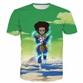 Huey urbano Camisetas Anime Dragon Ball Z Super Saiyan Vegeta camisetas Hombres Mujeres Hipster 3D t shirt Fashion tees tops