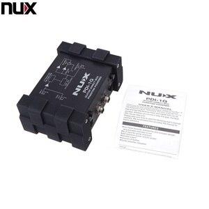 Image 5 - المهنية NUX PDI 1G الغيتار المباشر حقن فانتوم صندوق الطاقة جهاز مزج الصوت الفقرة خارج المدمجة تصميم المعادن الإسكان
