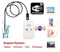 Wireless WiFi 8MM Endoscope Camera for IOS Endoscope Wi Fi USB Android Borescope Inspection Waterproof Snake Cable Camera