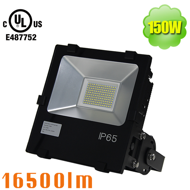 500w hid equivalent 150w led outside flood light daylight 6000k 500w hid equivalent 150w led outside flood light daylight 6000k roadway highway outdoor security lights aloadofball