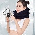 U cuello almohada de aire almohada Cervical Brace cuello hombro dolor relajarse apoyo masajeador almohada cojín de aire tracción suave