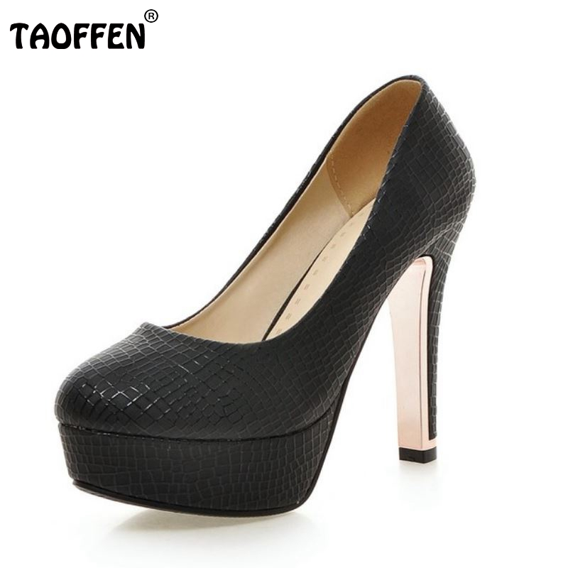 women high heel shoes platform sexy spring round toe concise brand footwear fashion heels dress pumps shoes size 34-39 P23227 women high heel shoes brand quality platform round toe pumps ladies fashion sexy gladiator rivets shoes women size 35 46 b195