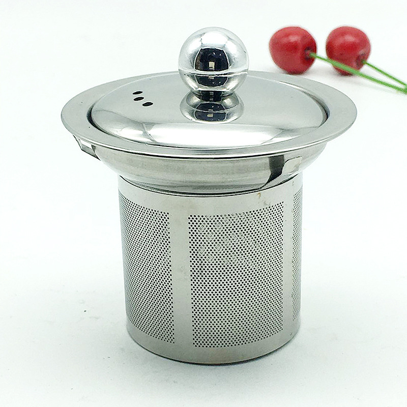 Reusable Stainless Steel Tea Strainer Mesh Infuser Basket Loose Tea Leaf Infusers Herb Filter For Mug Teapot Teaware Brand New