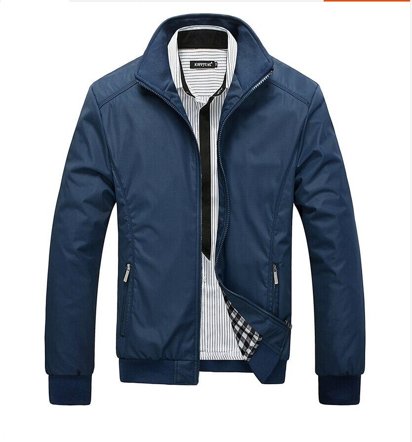 Jacket Men Overcoat Casual Bomber Jackets Mens Outerwear