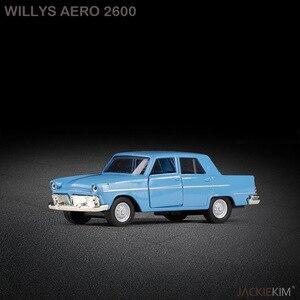Image 3 - Hohe simulation retro vintage Brasilianische vintage klassische auto, 1:38 alloy ziehen auto spielzeug, sammlung modell, freies verschiffen