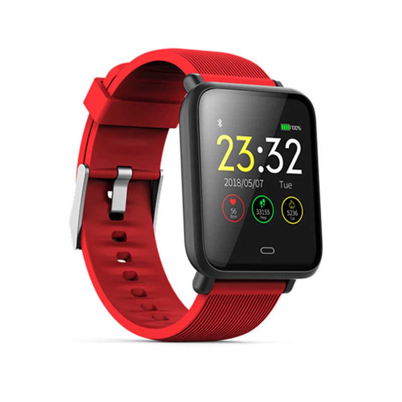 Dehwsg Đồng Hồ Thông Minh Smartwatch Q9 Chống Nước Đo Nhịp Tim Huyết Áp Smart Watch Nam Nữ Hình Như Aplle Dây Nồi Cơm Điện Từ P68 Dành Cho Android IOS