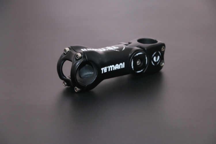 Temani ayarlanabilir açı 0-17-45 karbon bisiklet gövdesi yol bisikleti hafif MTB kök/karbon kök 31.8 * 90/100/110/120mm
