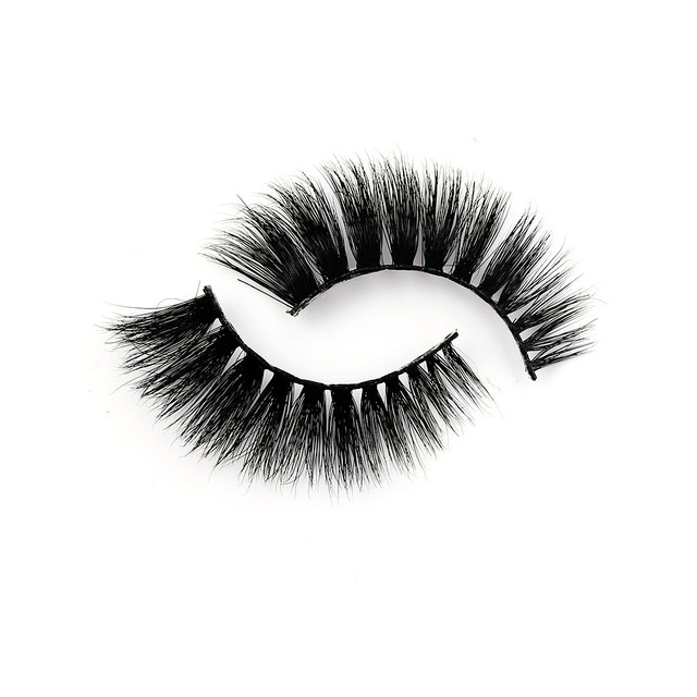 Handmade False Eyelashes 3d Mink 1 Pair Super Thick Natural Long