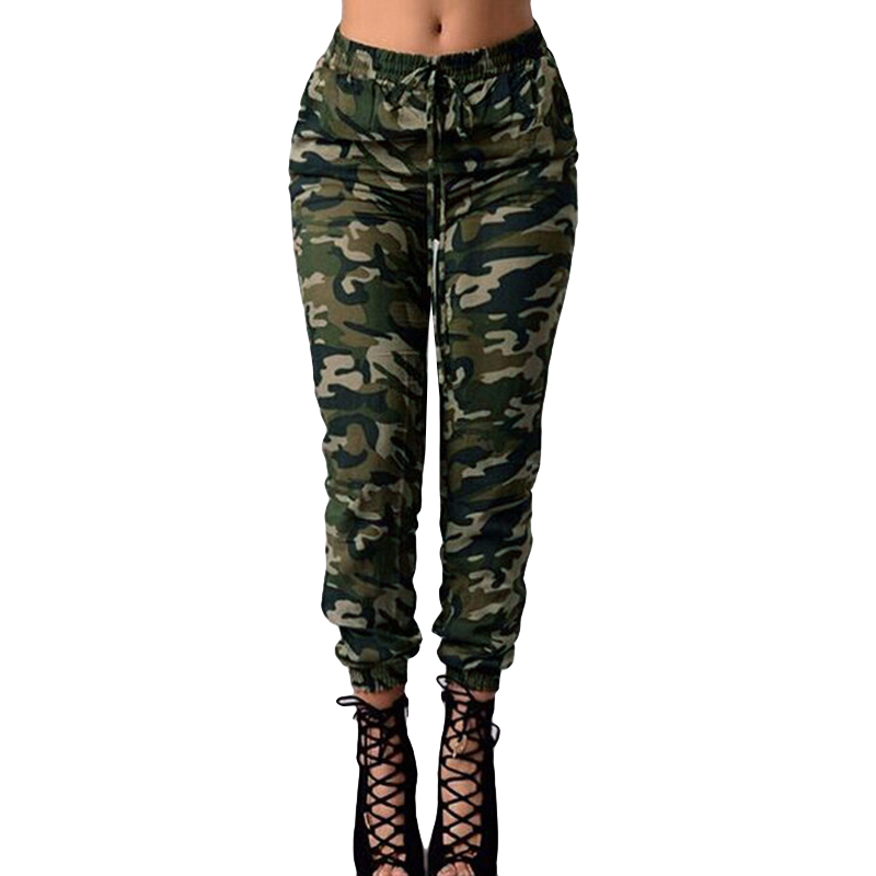 usa cheap sale new york search for newest US $13.03 37% OFF|3XL 4XL 5XL Plus Size Joggers Women Camouflage Pants  Sweatpants Print Elastic Waist Casual Oversized Camo Trousers female  Green-in ...