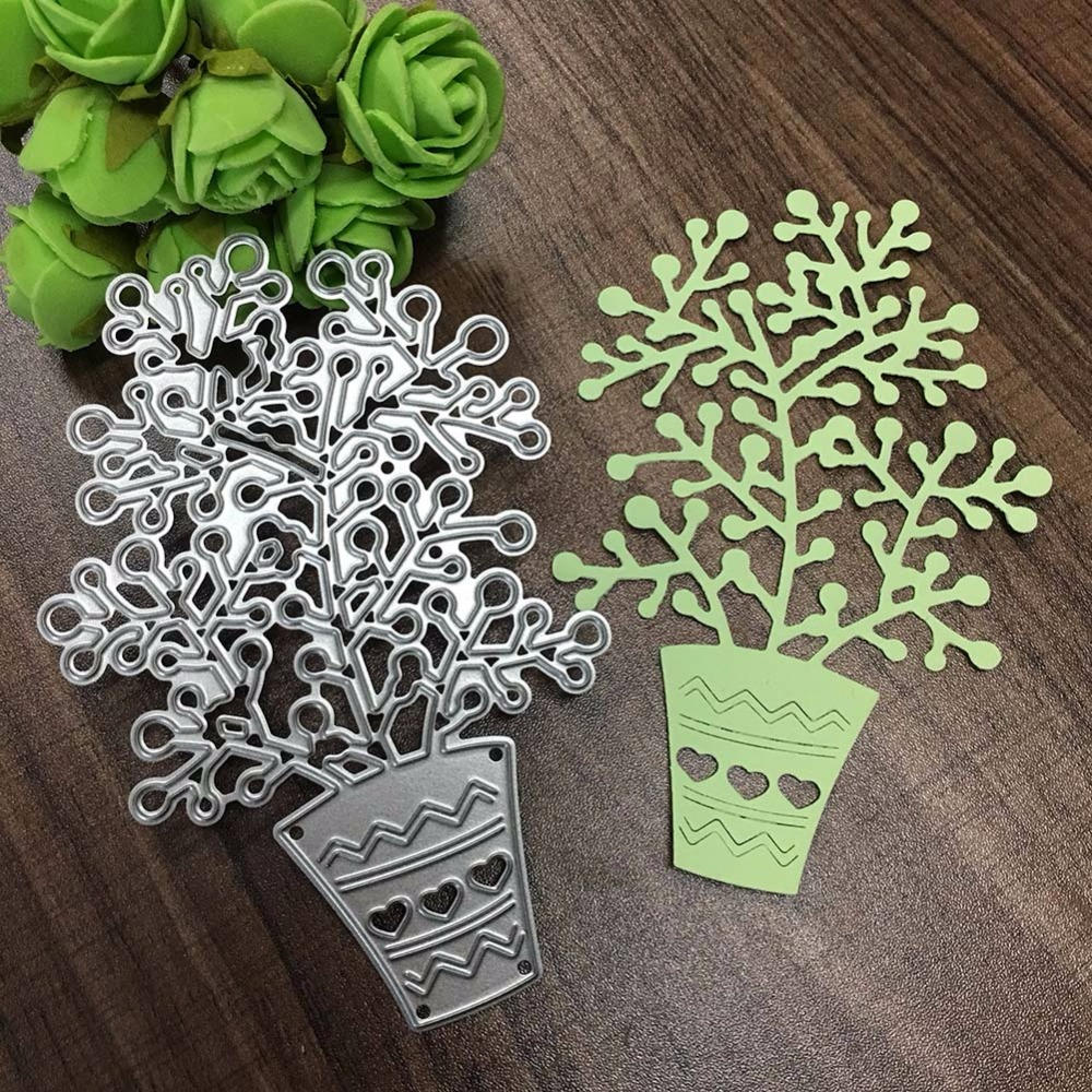Plants arts and crafts - Plants Arts And Crafts 70 105mm 1pc New Ornament Metal Steel Arts And Crafts Cutting