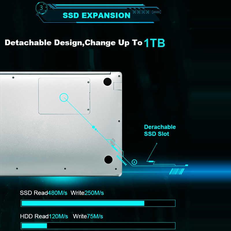 15,6 дюймовый игровой ноутбук с 8 Гб ОЗУ DDR4 1 ТБ 512G 256G 128G 64G SSD rom ноутбук ультрабук intel четырехъядерный ноутбук Win10