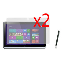 """2x films + 2x cloth +1x Stylus, LCD Clear Screen Protector Transparent Film Guards For Acer Iconia Tab W510 W511 10.1"""" Tablet(China)"""