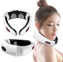Free shipping cervical Massager Electromagnetic Shock Pulse Cervical Sphygmotherapy Instrument Multifunction Neck