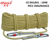 Brand ASOL Rescue high above the ground exploratory heading project rope Rock Climbing KEVLA cord Lifeline Fire retardant