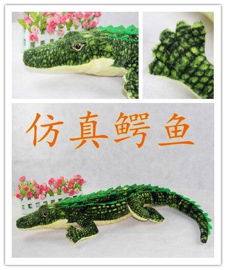 Nouvelle Chaude En Peluche En Peluche Animal Simualtion Crocodile Jouet Poupée Belle Grand 1.05 M Qualité Enfants de Cadeau D'anniversaire
