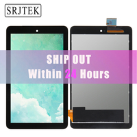 New For Dell Venue 7 T01C 3740 LCD Display Touch Screen Digitizer Sensor Panel Glass Full