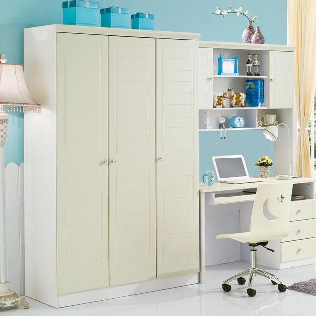 Muebles con puertas correderas tres armario blanco armario de ...