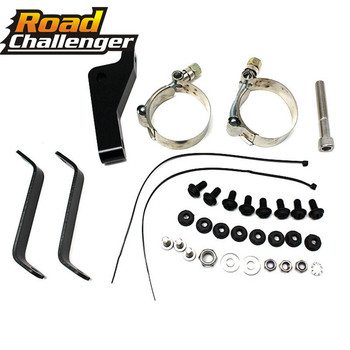 Headlight Fairing Bracket Black Trigger Lock Mount Kit Motorcycle For 2006-2014 Harley Dyna Street Bob FXDB, Low Rider FXDL