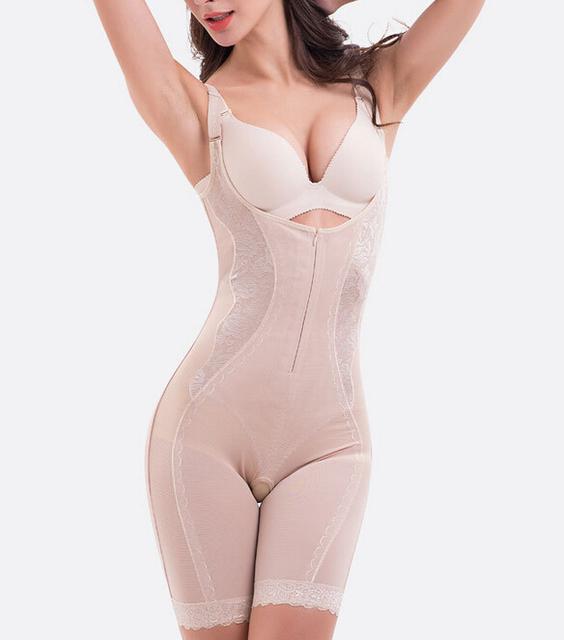 ALÉM de grande tamanho 5XL Mulheres Insinua Bodysuit Shapewear Slimming Body Shaper Venda Quente Melhor Corpo Inteiro Corset Shaper Cueca