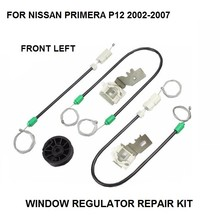 WINDOW REGULATOR KIT FOR NISSAN PRIMERA P12 ELECTRIC WINDOW REGULATOR REPAIR KIT FRONT LEFT 2002-2007