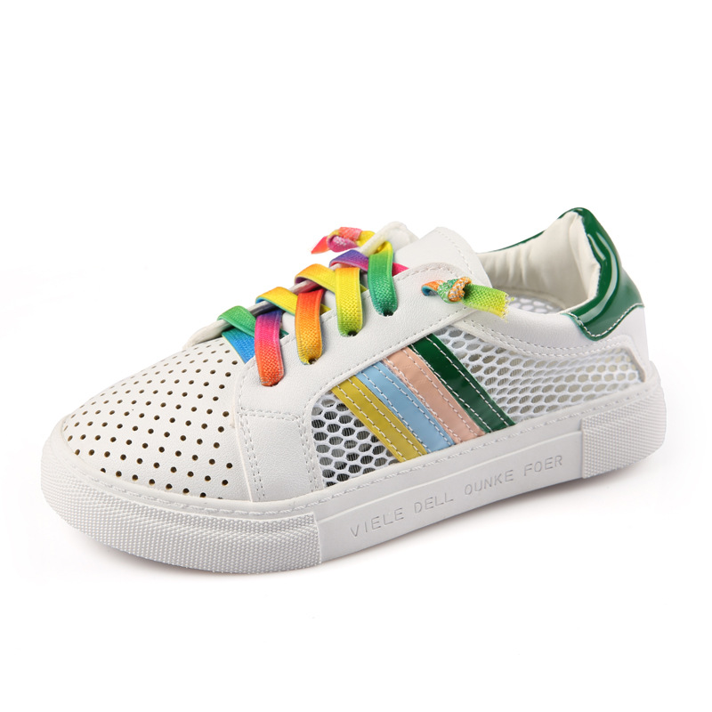 2017 Brand Children Canvas Boys and Girls New Spring Summer Hollow Fashion Sneakers Kids Mesh Breathable Casual Shoes aadct spring new travel children shoes low cut casual boys running shoes real leather kids shoes for little girls brand