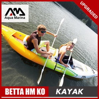 Aqua Marina inflatable boat fishing sport kayak canoe pvc dinghy raft aluminium paddle pump seat drop stitch laminated A08005