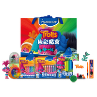 Marco Trolls Magic Elf Licensed Green Color Crayons Crayons Color Box Lead