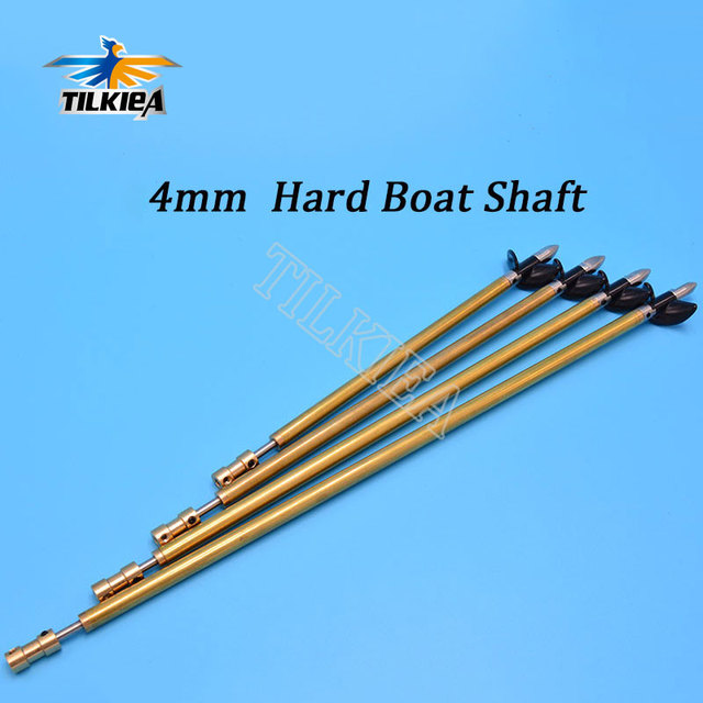 Boot 4mm Edelstahl Schiff Welle Antriebswelle + Zwei Klingen propeller + Kupfer Welle Hülse/set