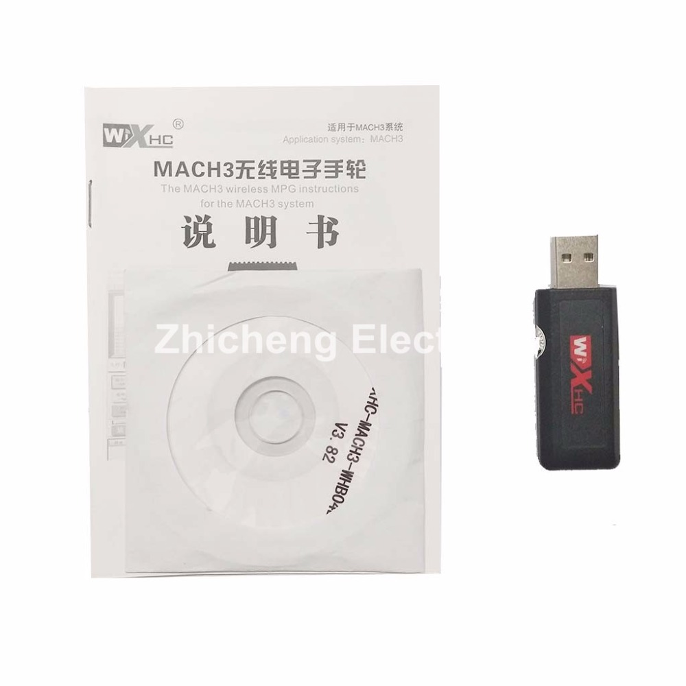 Mach3 USB Pendant Manual remote Control wireless handwheel pendant